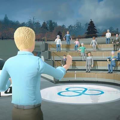 HTC Vive Sync spotkania i prezentacje w VR