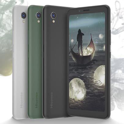 Hisense A5C pro CC smartfon z kolorowym e-tuszem