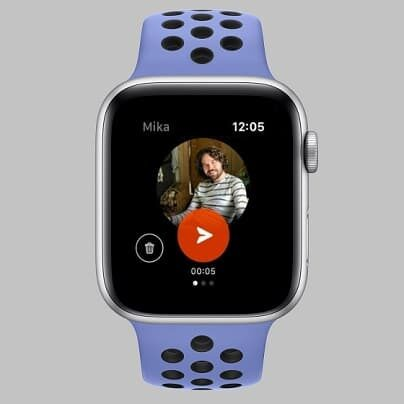 Kit (Keep in Touch) Apple Watch