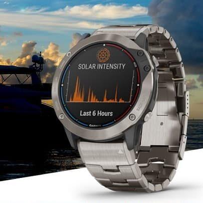 Garmin Quatix 6X Solar zegarek ładowany solarnie