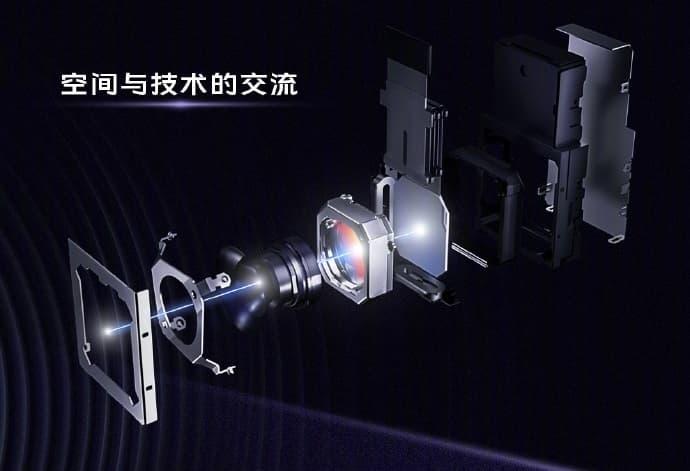 Vivo X50 Pro z wbudowanym micro gimbalem