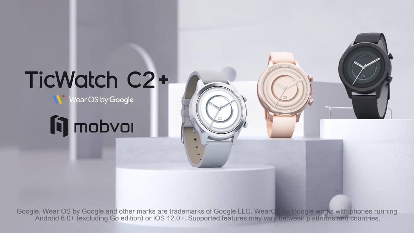 Mobvoi TicWatch C2+ smartwatch wearOs