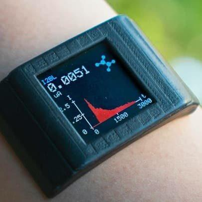 smartwatch analiza potu UCLA
