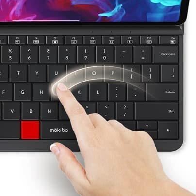 klawiatura Mokibo z gładzikiem na przyciskach