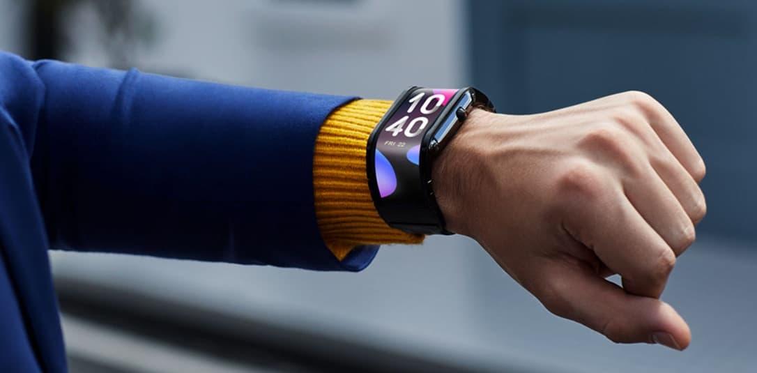 giętki smartwatch Nubia Watch