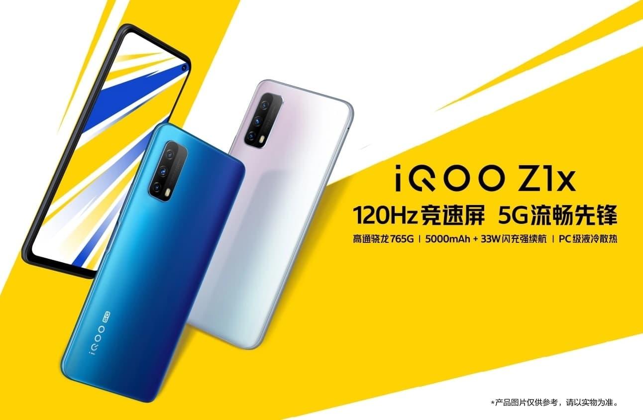 Vivo iQOO Z1x - ekran 120 Hz
