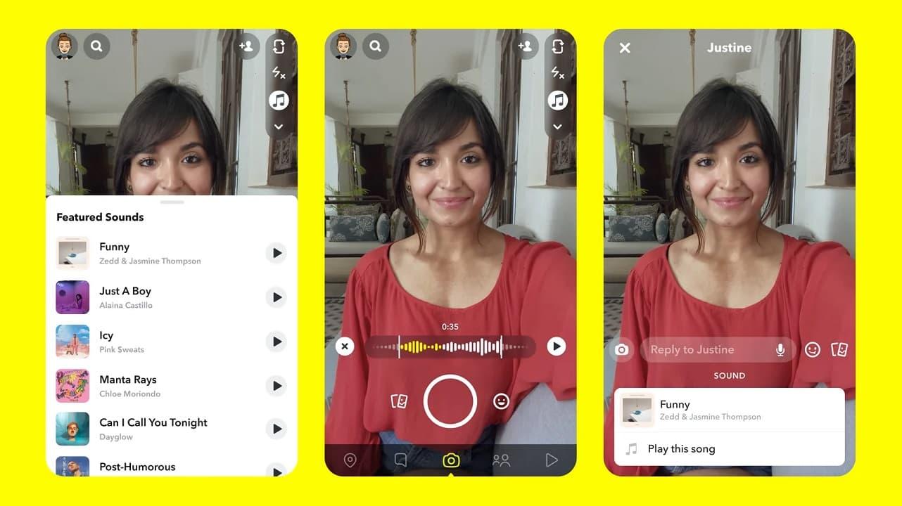 Snapchat Warner Music