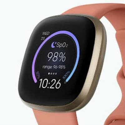 tarczka Fitbit Signature SpO2