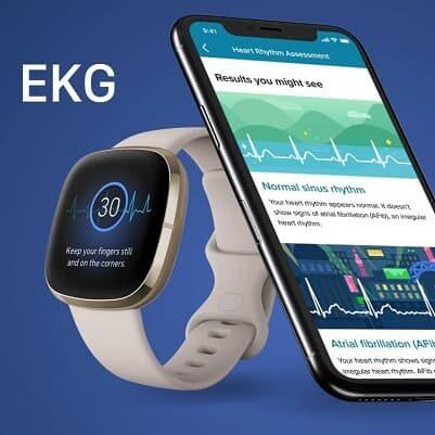 Fitbit Sense z EKG