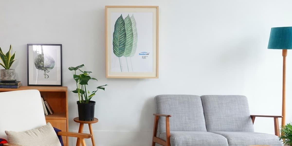 Sauberair FLAT smart oczyszczacz na ścianę