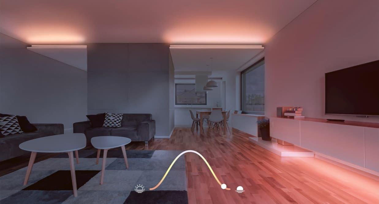 Eve Light Strip Adaptive Lighting