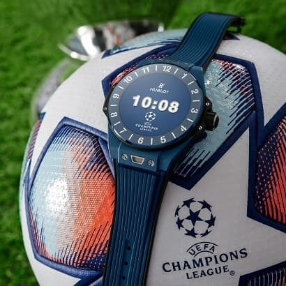Hublot Big Bang e UEFA Champions League smartwatch
