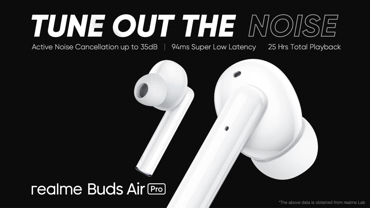 Realme Buds Air Pro z ANC