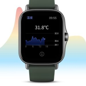 Amazfit GTS 2e smart zegarek z czujnikiem temperatury