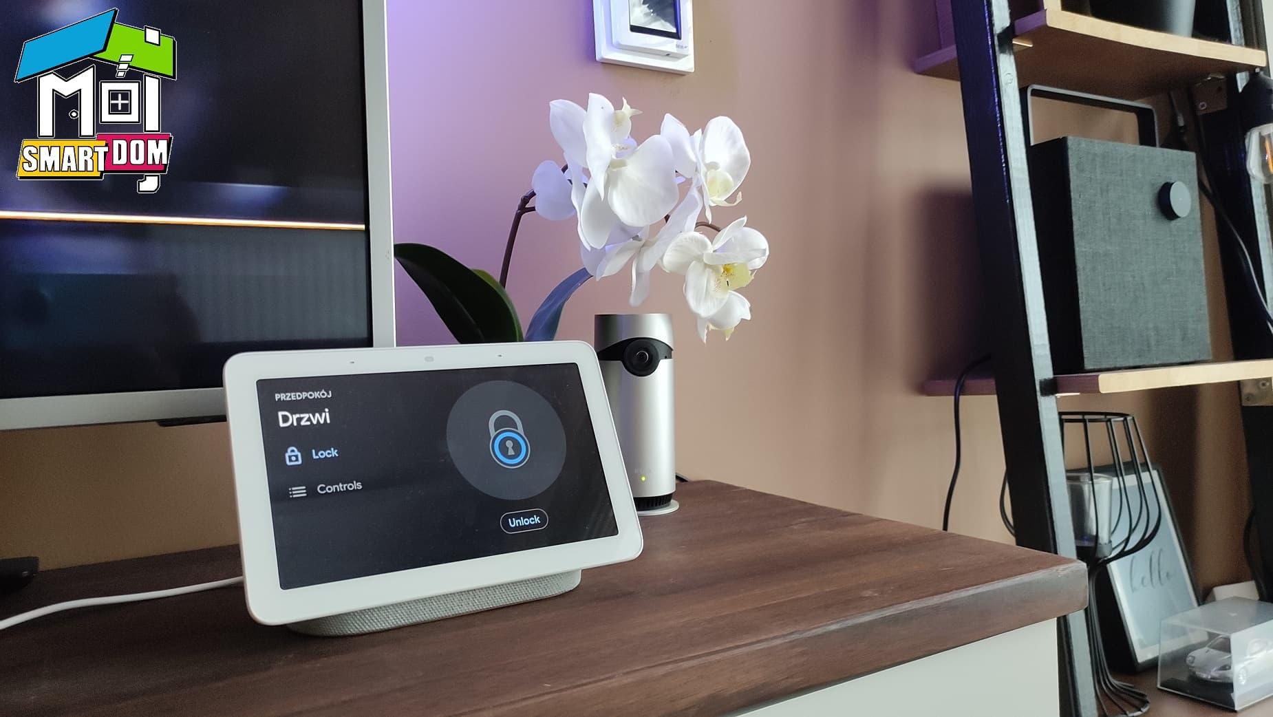 Linus smart zamek z Google Nest Hub