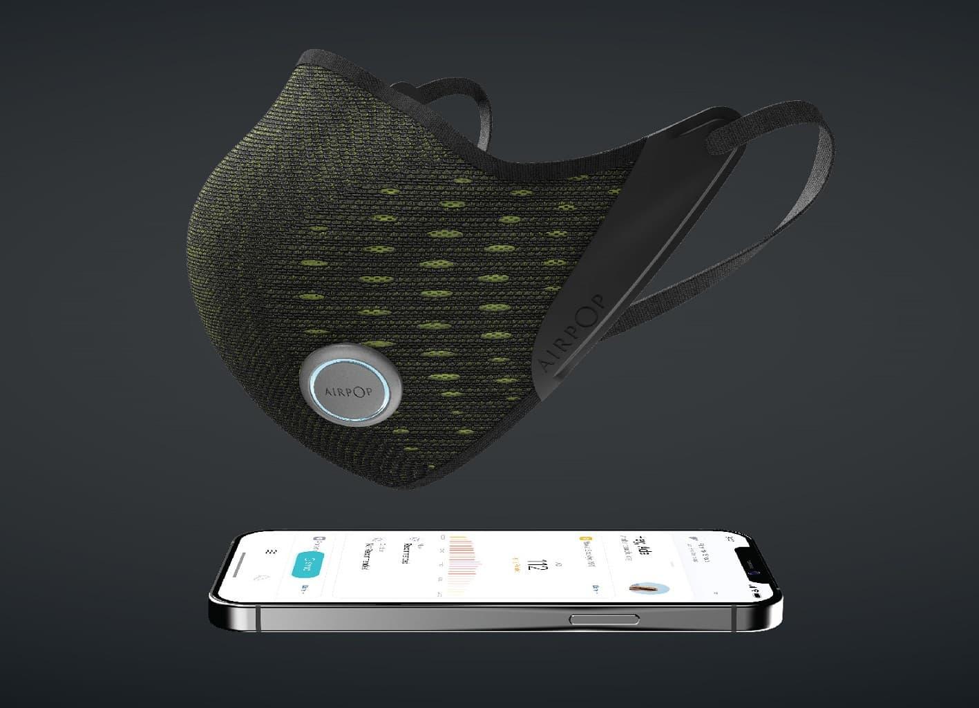 AirPop Active+ smart maseczka z aplikacją