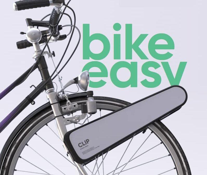 Clip – napęd elektryczny na przednie koło roweru