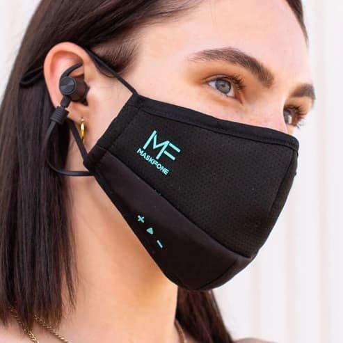 MaskFone – maseczka z zestawem słuchawkowym