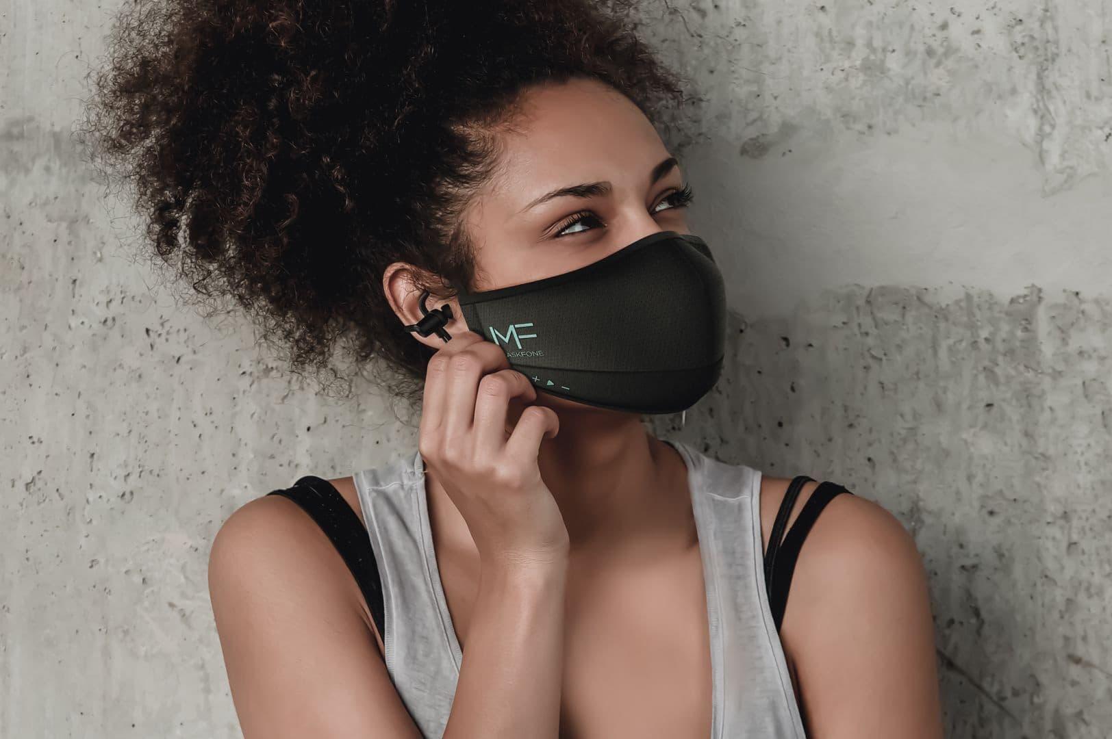 MaskFone smart maseczka z zestawem słuchawkowym