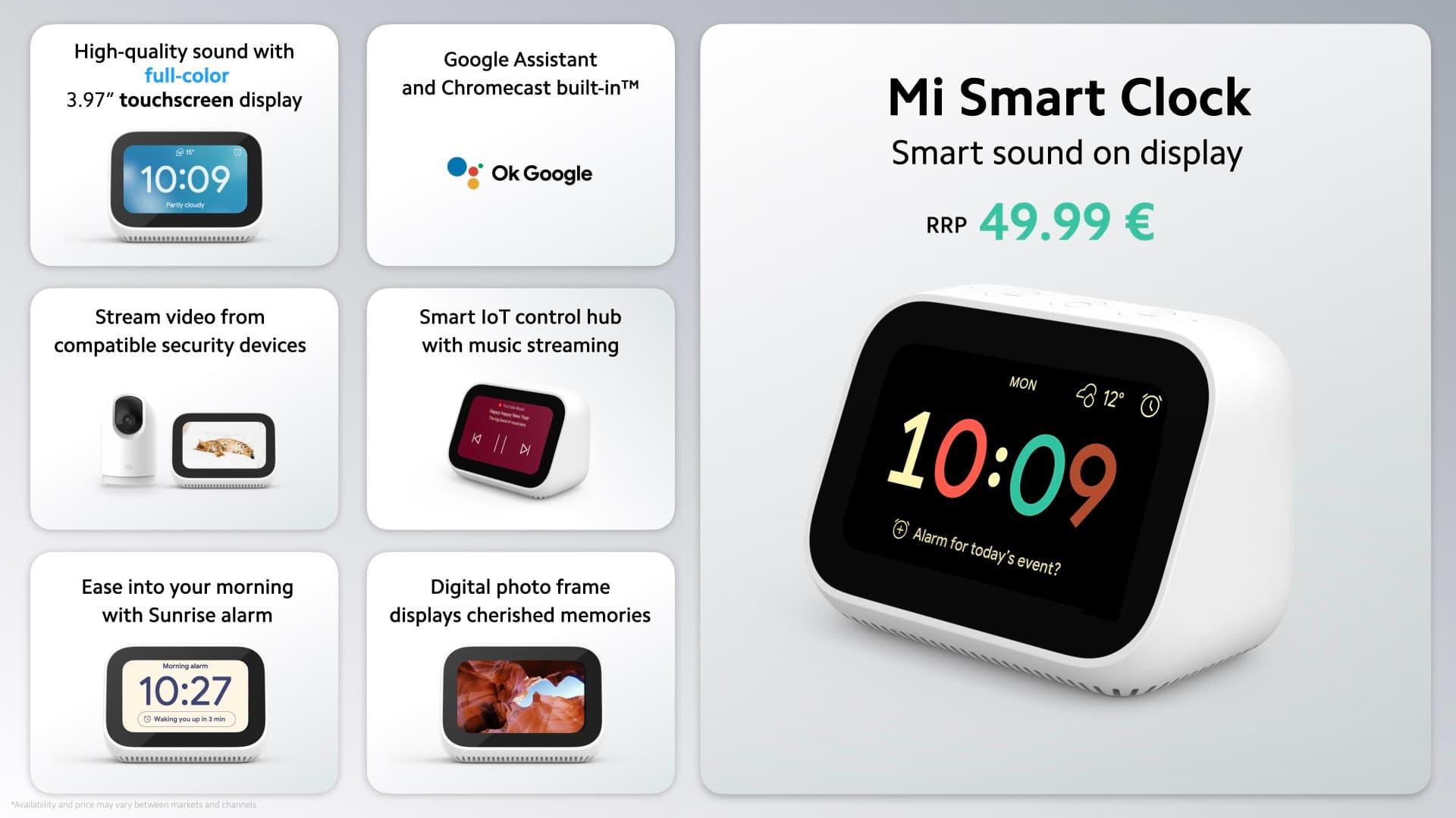 smart ekran Xiaomi Mi Smart Clock