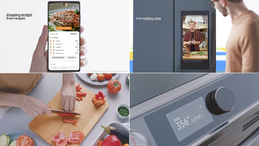 SmartThings Cooking