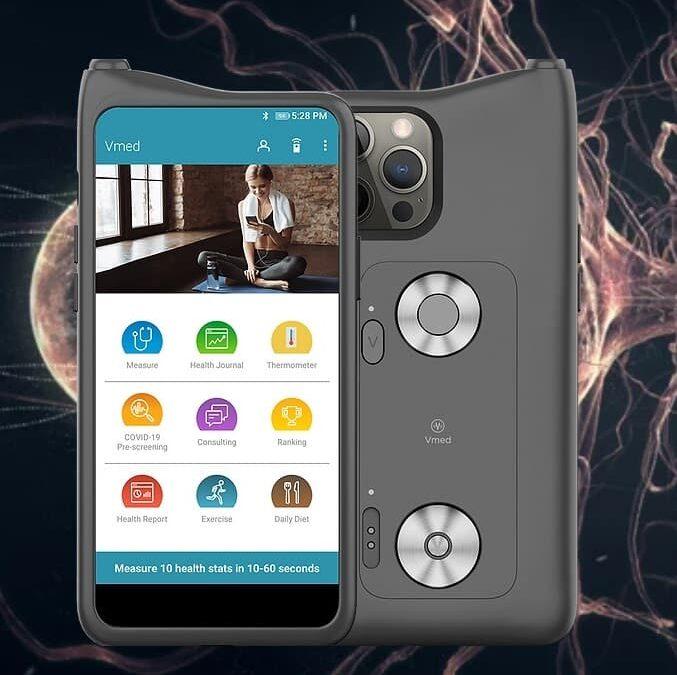 Vmed – obudowa na smartfon do analizy zdrowia