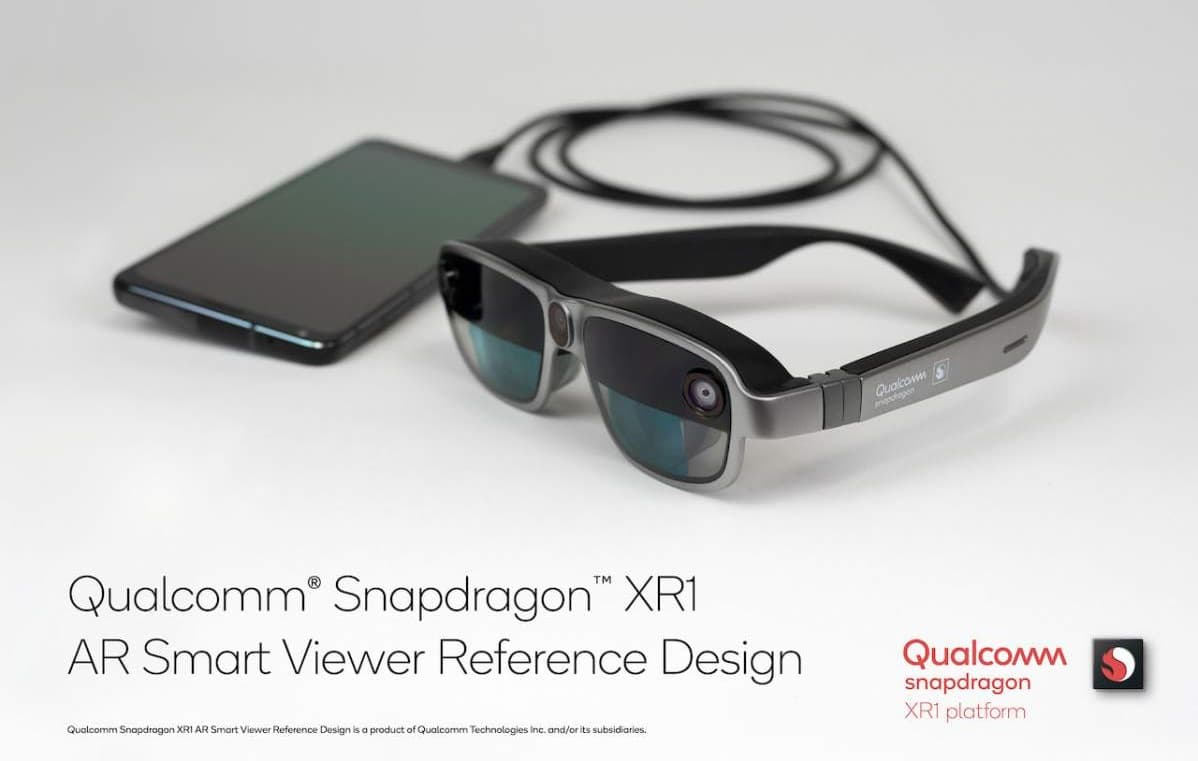 Qualcomm XR1 AR Smart Viewer referencyjne gogle rzeczywistości rozszerzonej