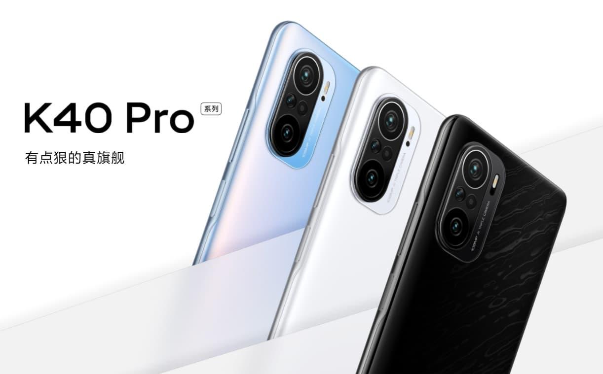 Redmi K40, K40 Pro i K40 Pro+