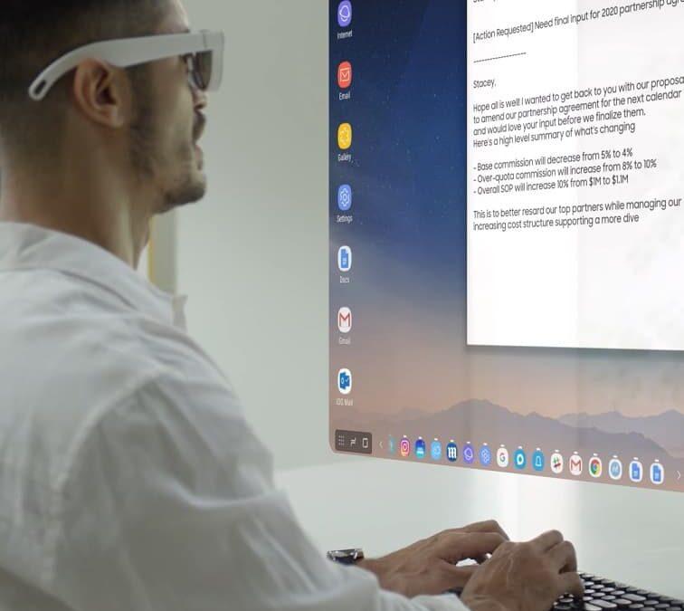 Smart okulary Samsung AR Glasses w przeciekach?