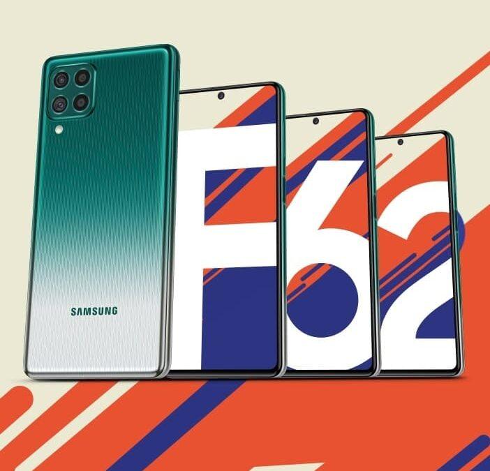 Samsung Galaxy F62 z baterią 7000 mAh