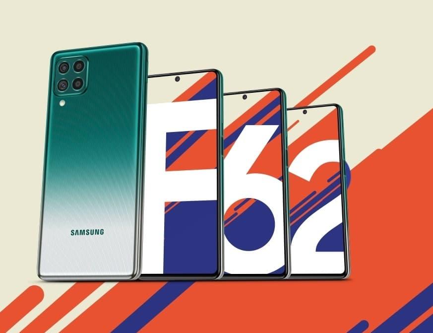 Samsung Galaxy F62 bateria 7000 mAh