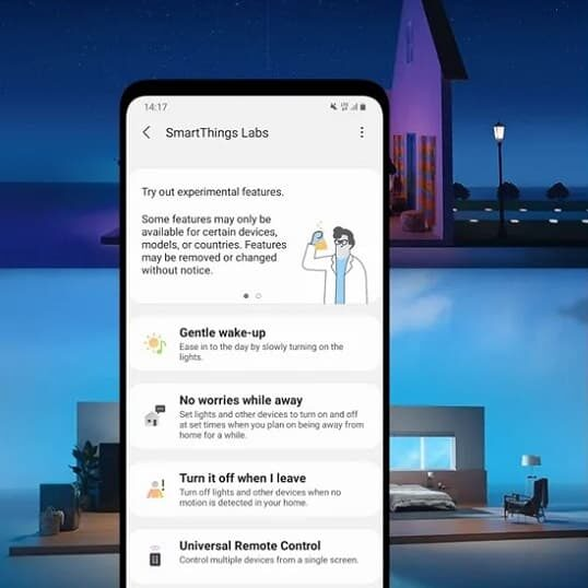 SmartThings Labs – eksperymentalnie dla smart home