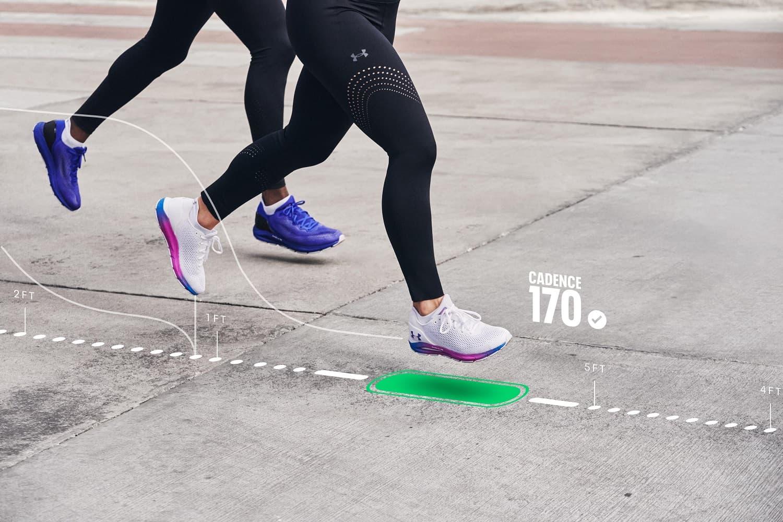 Under Armour HOVR 2021 smart buty do biegania