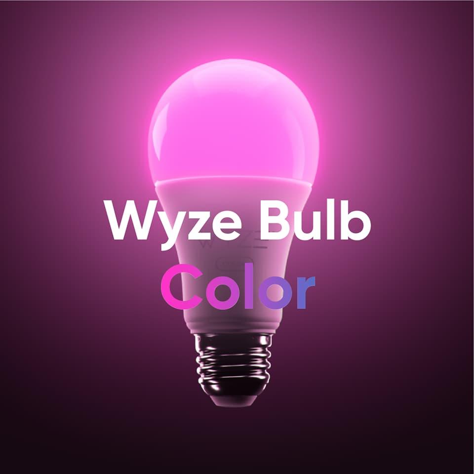 budżetowa smart żarówka Wyze Bulb Color