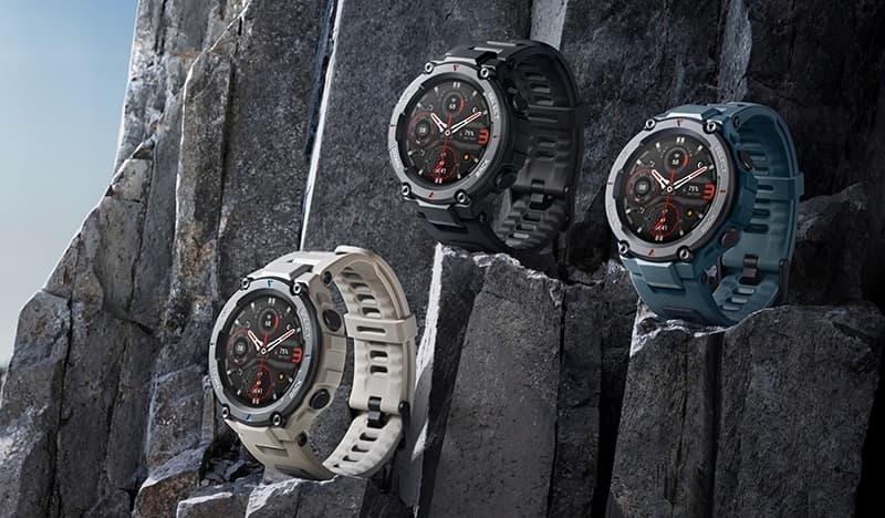 Amazfit T-Rex Pro wzmocniony smartwatch