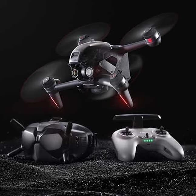DJI FPV – racingowy dron z goglami