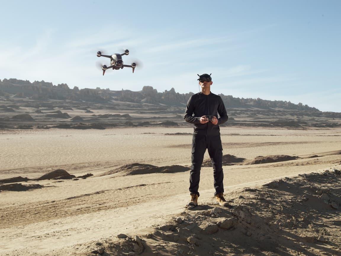 dron wyścigowy DJI FPV