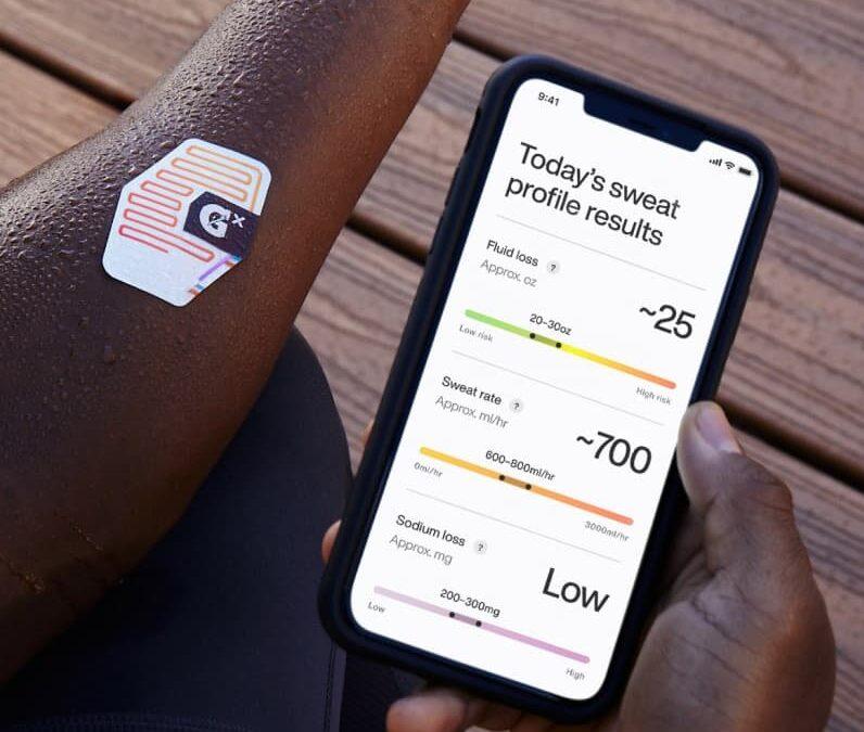Gatorade Gx Sweat Patch – smart plaster analizujący nawodnienie