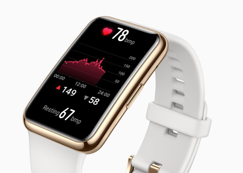 Huawei Watch Fit Elegant Edition SpO2 pulsuksymetr całodobowa saturacja w zegarku