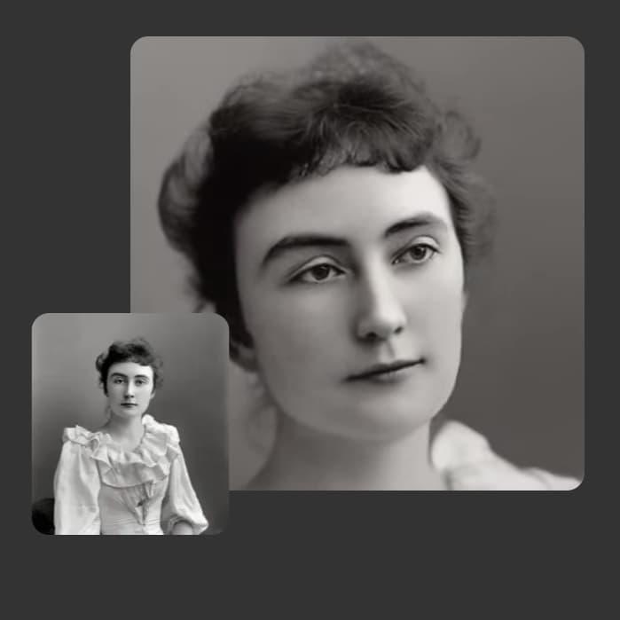 ożywianie twarzy ze starego zdjęcia MyHeritage Deep Nostalgia