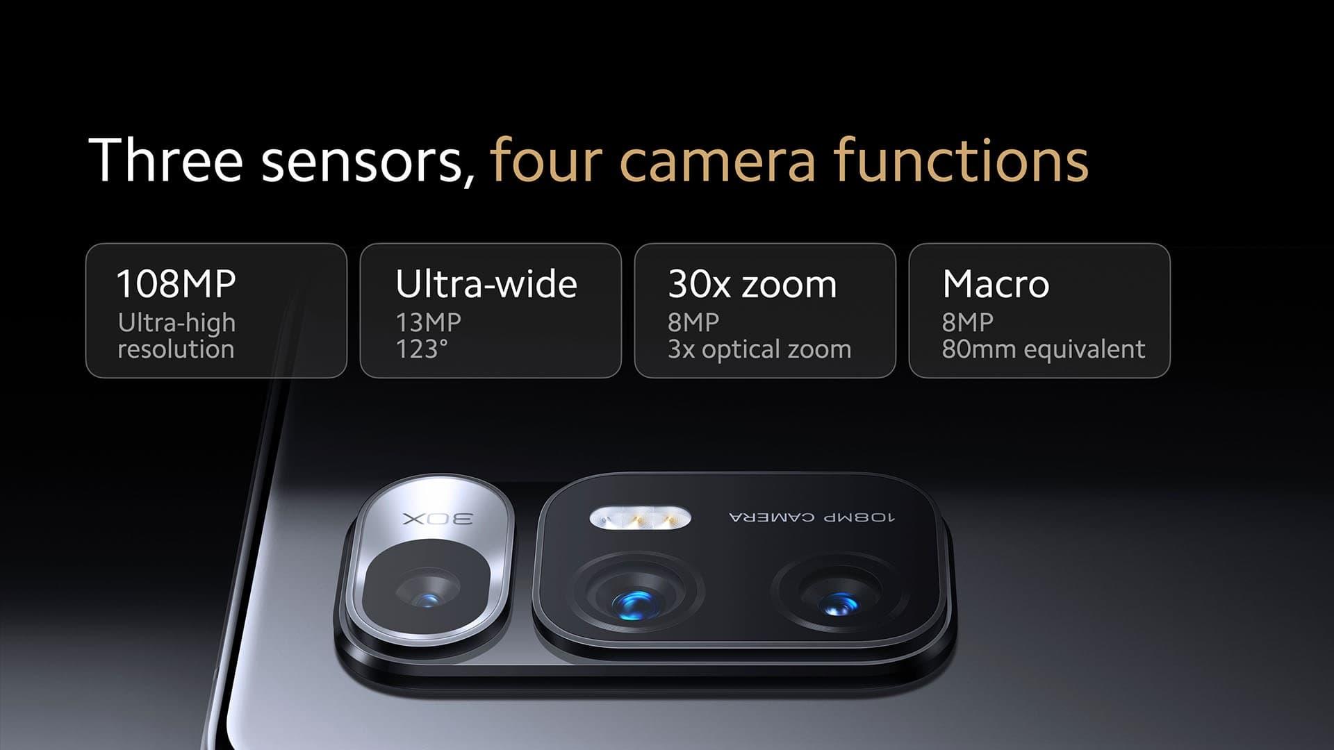 Składany Xiaomi Mi MIX Fold z płynną optyką aparatu fotograficznego