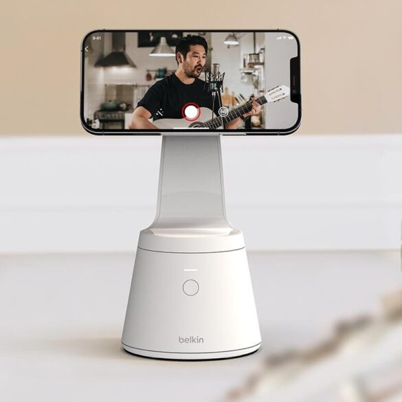 Belkin Magnetic Phone Mount Face Tracking