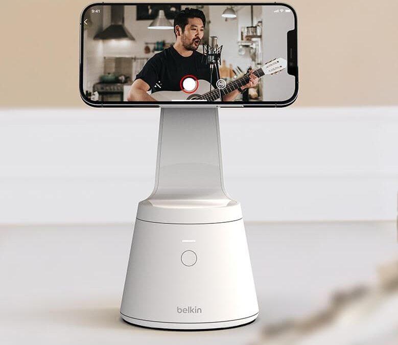 Belkin Magnetic Phone Mount do video połączeń