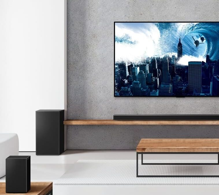 Soundbary LG na 2021 rok z AI Sound Pro