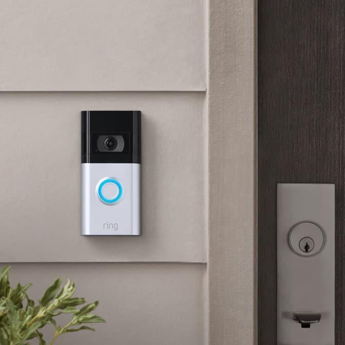 Ring Video Doorbell 4 z kolorowym Pre-roll