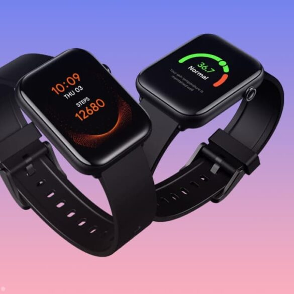 TicWatch GTH zegarek z czujnikiem temperatury i saturacją