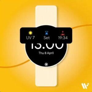 Wear OS indeks UV