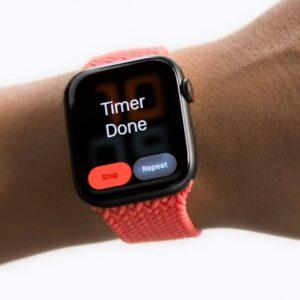AssistiveTouch gestowe sterowanie Apple Watchem