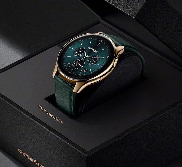 Bardziej stylowy OnePlus Watch Cobalt Edition