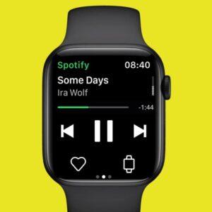 Spotify offline Apple Watch